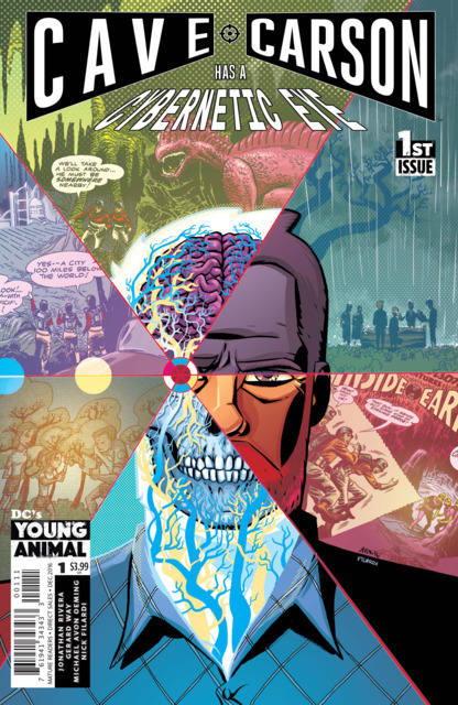 Cave Carson has a Cybernetic Eye (2016) Complete Bundle - Used