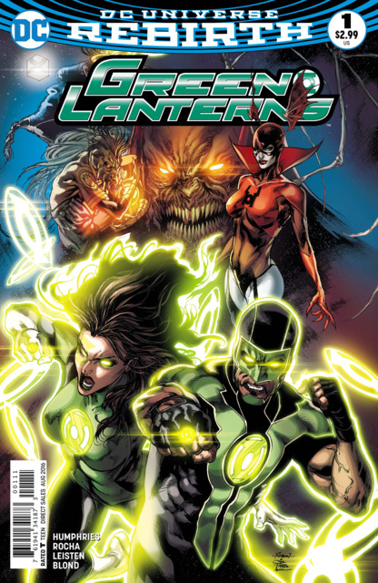 Green Lanterns (2016) no. 1 - Used