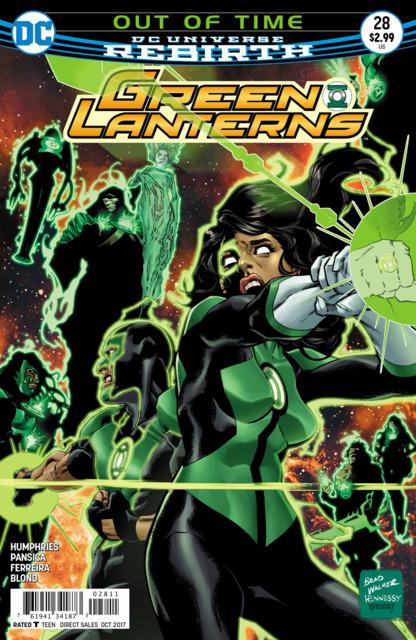 Green Lanterns (2016) no. 28 - Used