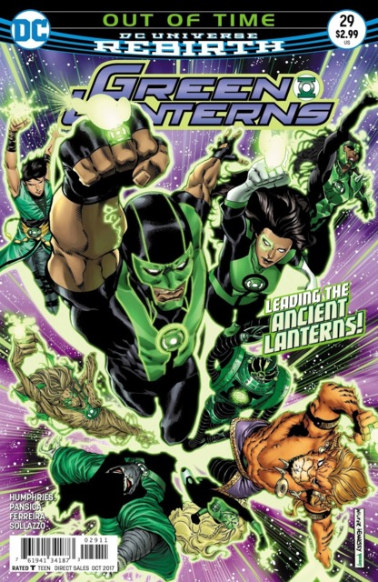 Green Lanterns (2016) no. 29 - Used