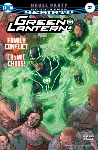 Green Lanterns (2016) no. 32 - Used