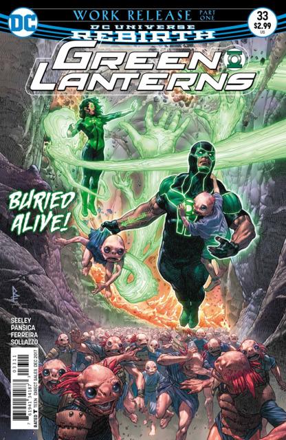 Green Lanterns (2016) no. 33 - Used