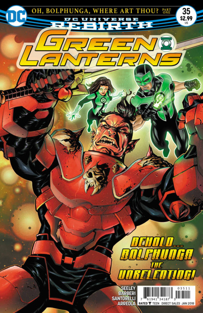 Green Lanterns (2016) no. 35 - Used