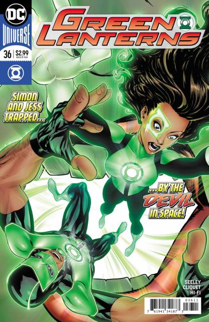 Green Lanterns (2016) no. 36 - Used
