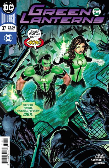 Green Lanterns (2016) no. 37 - Used