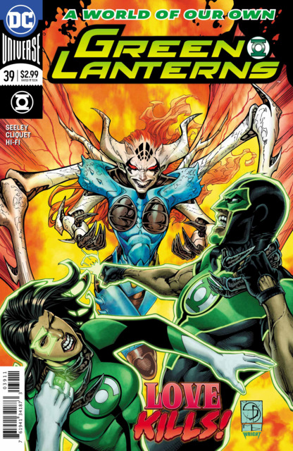 Green Lanterns (2016) no. 39 - Used