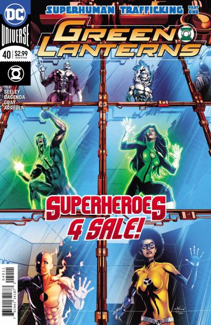 Green Lanterns (2016) no. 40 - Used
