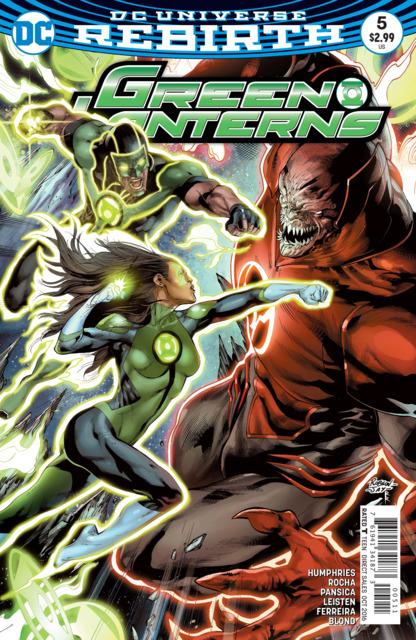 Green Lanterns (2016) no. 5 - Used