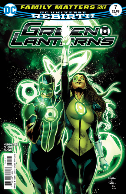 Green Lanterns (2016) no. 7 - Used