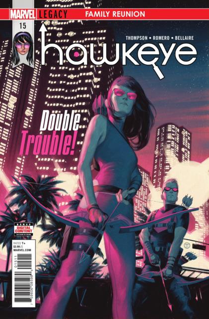 Hawkeye (2016) no. 15 - Used