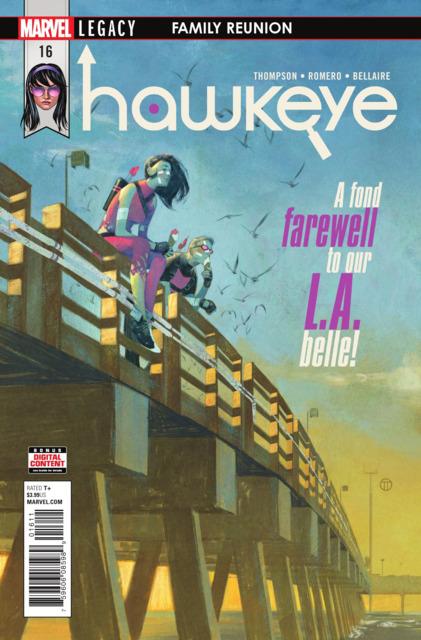Hawkeye (2016) no. 16 - Used