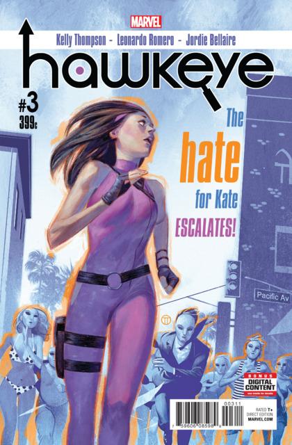 Hawkeye (2016) no. 3 - Used