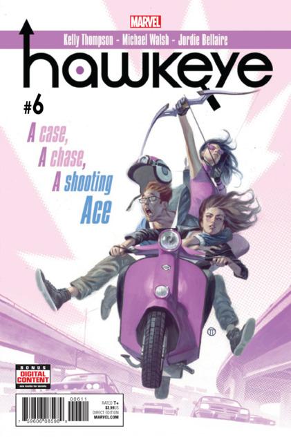 Hawkeye (2016) no. 6 - Used