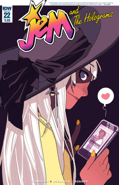 Jem and the Holograms (2015) no. 22 - Used