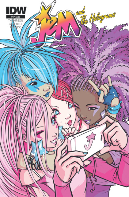 Jem and the Holograms (2015) no. 3 - Used