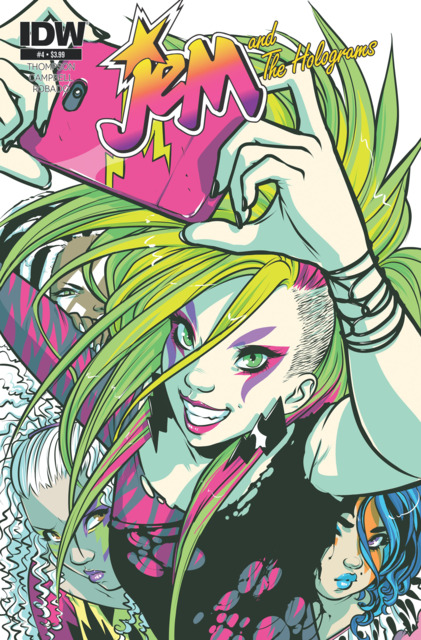 Jem and the Holograms (2015) no. 4 - Used