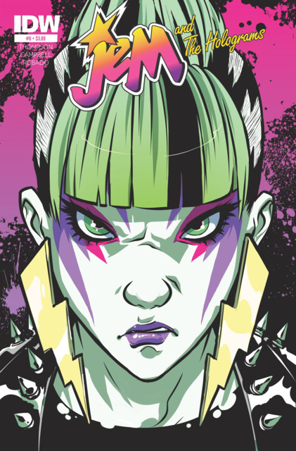 Jem and the Holograms (2015) no. 6 - Used