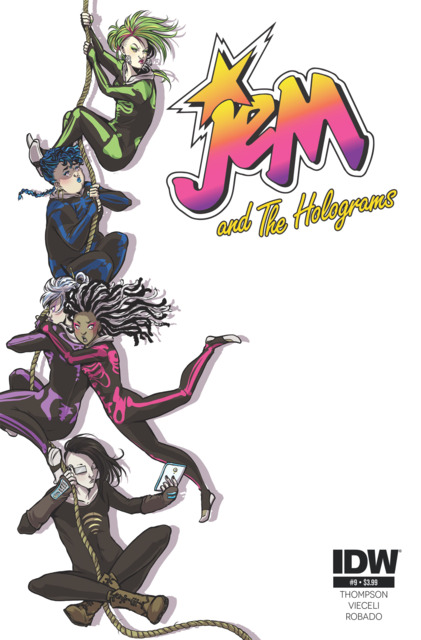 Jem and the Holograms (2015) no. 9 - Used