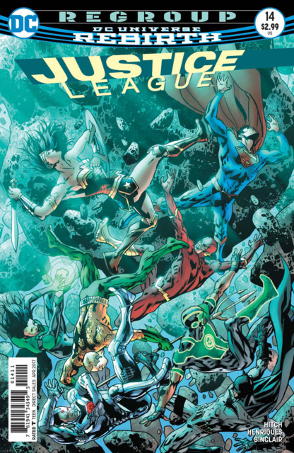 Justice League (2016) no. 14 - Used