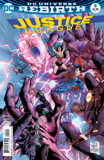 Justice League (2016) no. 5 - Used