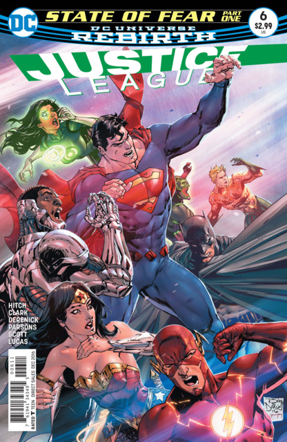 Justice League (2016) no. 6 - Used