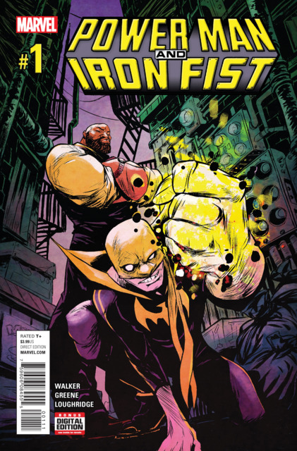 Power Man and Iron Fist (2016) no. 1 - Used