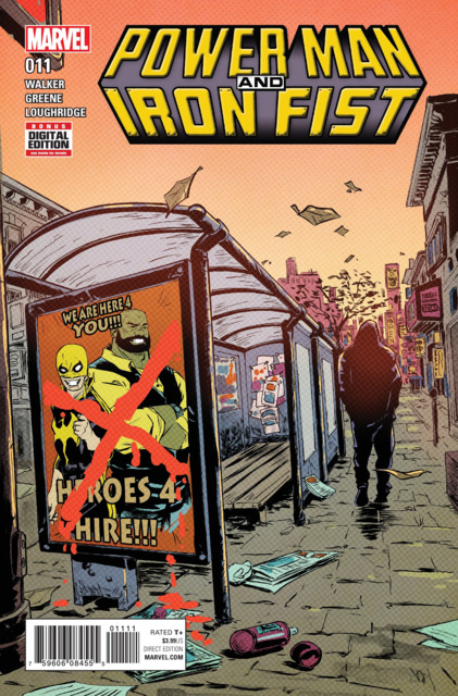 Power Man and Iron Fist (2016) no. 11 - Used