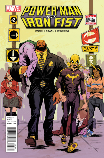 Power Man and Iron Fist (2016) no. 2 - Used