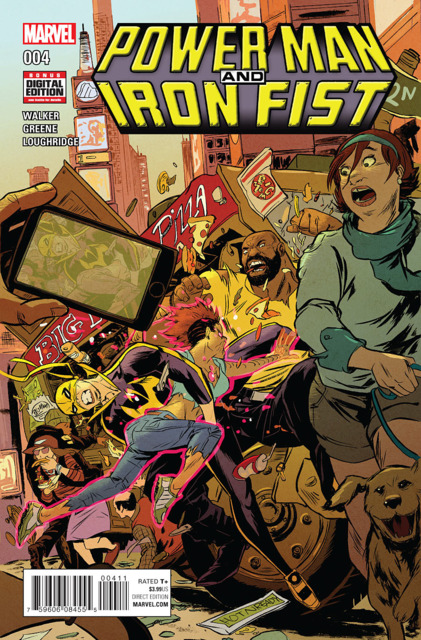 Power Man and Iron Fist (2016) no. 4 - Used