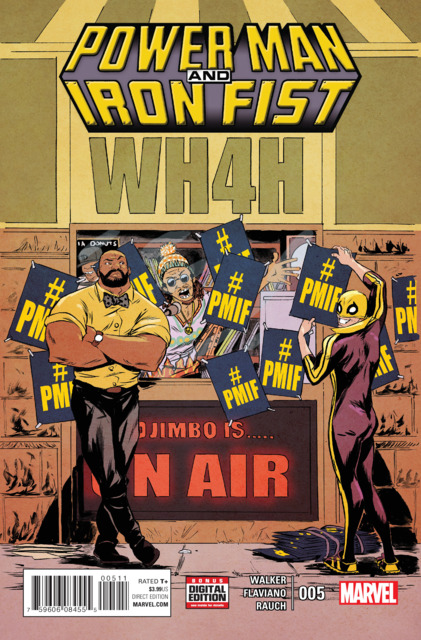 Power Man and Iron Fist (2016) no. 5 - Used