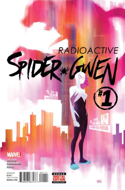 Spider-Gwen (2015 2nd series) no. 1 - Used