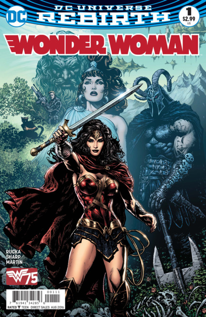Wonder Woman (2016) no. 1 - Used