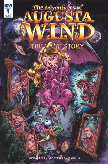 Adventures of Augusta Wind: The Last Story (2016) Complete Bundle - Used