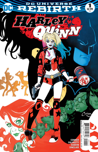 Harley Quinn (2016) no. 1 - Used