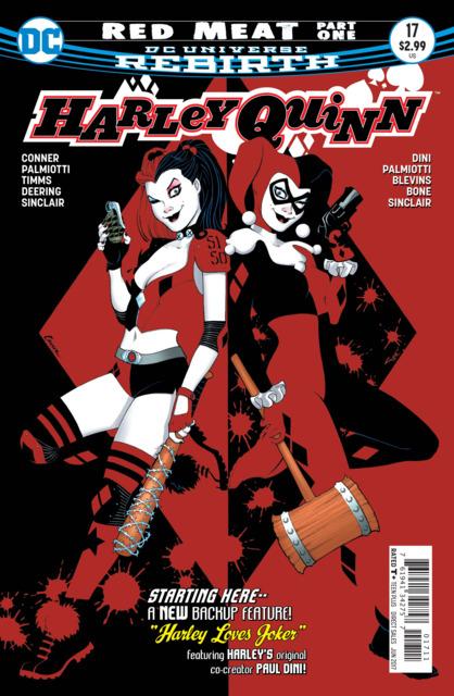 Harley Quinn (2016) no. 17 - Used