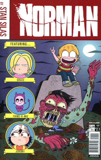 Norman the First Slash (2016) Complete Bundle - Used