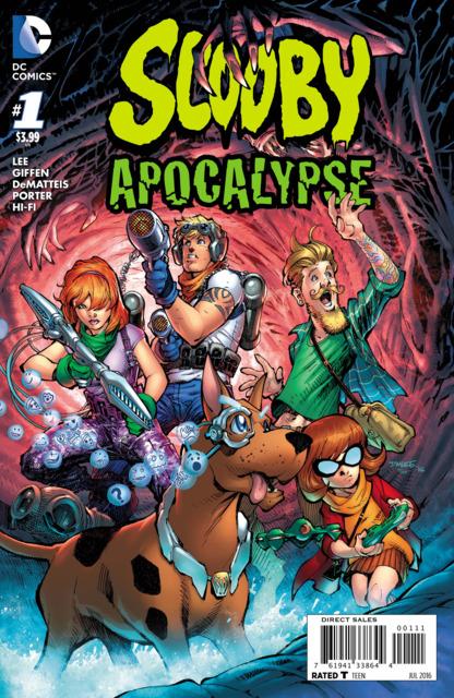 Scooby Apocalypse (2016) no. 1 - Used