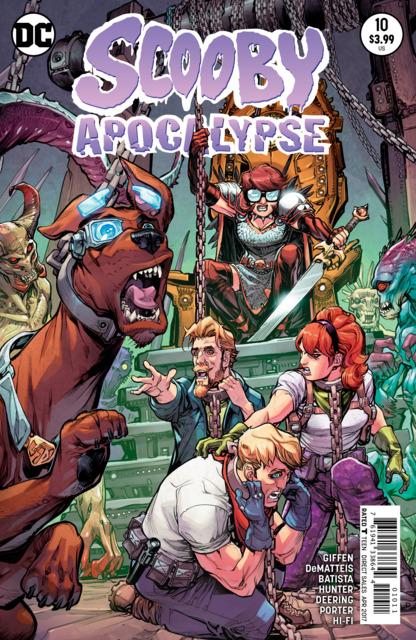 Scooby Apocalypse (2016) no. 10 - Used