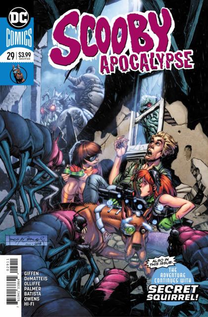 Scooby Apocalypse (2016) no. 29 - Used