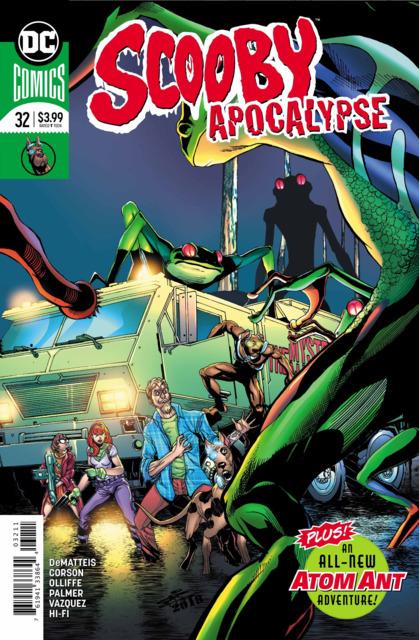 Scooby Apocalypse (2016) no. 32 - Used