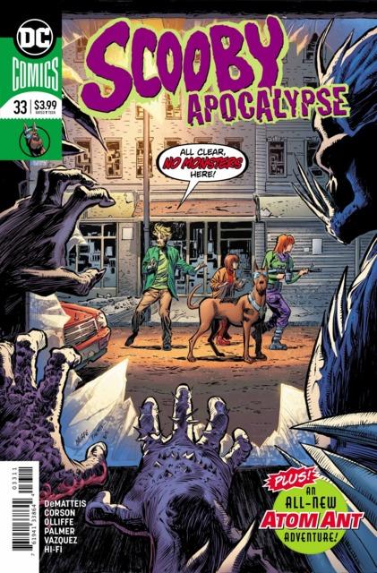 Scooby Apocalypse (2016) no. 33 - Used