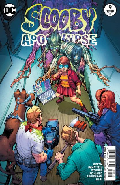 Scooby Apocalypse (2016) no. 9 - Used