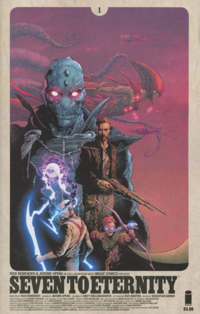 Seven to Eternity (2016) no. 1 (2nd Printing) - Used