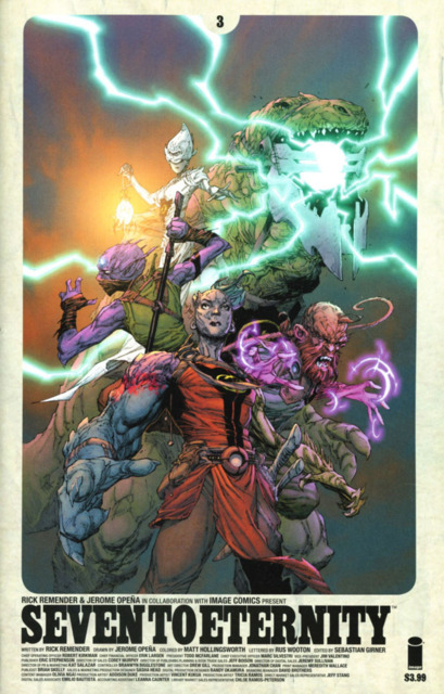 Seven to Eternity (2016) no. 3 - Used