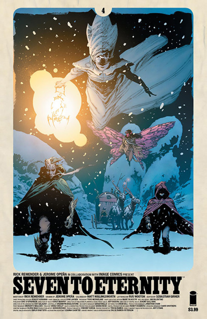 Seven to Eternity (2016) no. 4 - Used