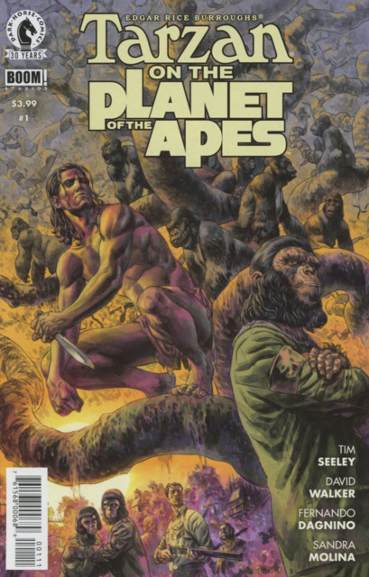 Tarzan on the Planet of the Apes (2016) Complete Bundle - Used