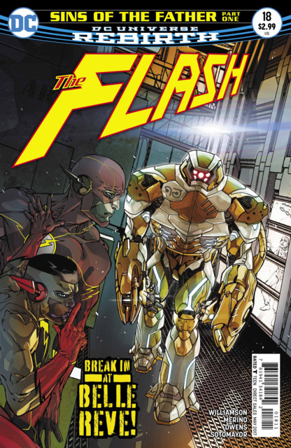 Flash (2016) no. 18 - Used