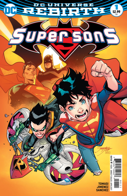 Super Sons (2017) no. 1 - Used