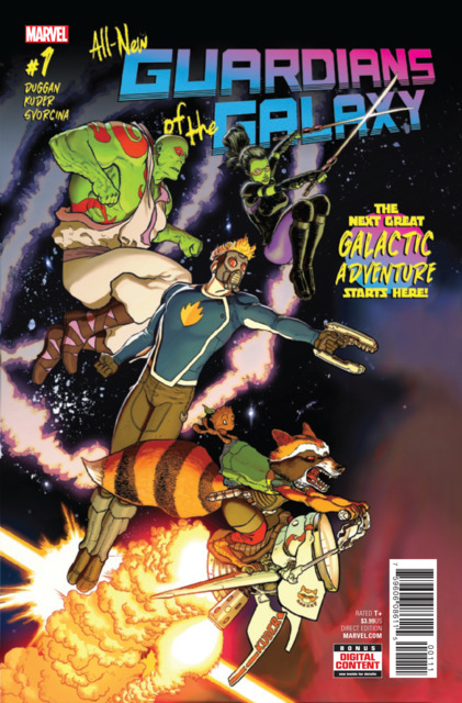 All New Guardians of the Galaxy (2017) no. 1 - Used