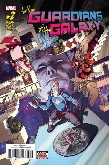 All New Guardians of the Galaxy (2017) no. 2 - Used